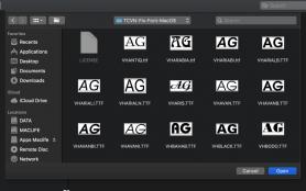 Hướng Dẫn cài font cho Mac nhanh và hiệu quả nhất