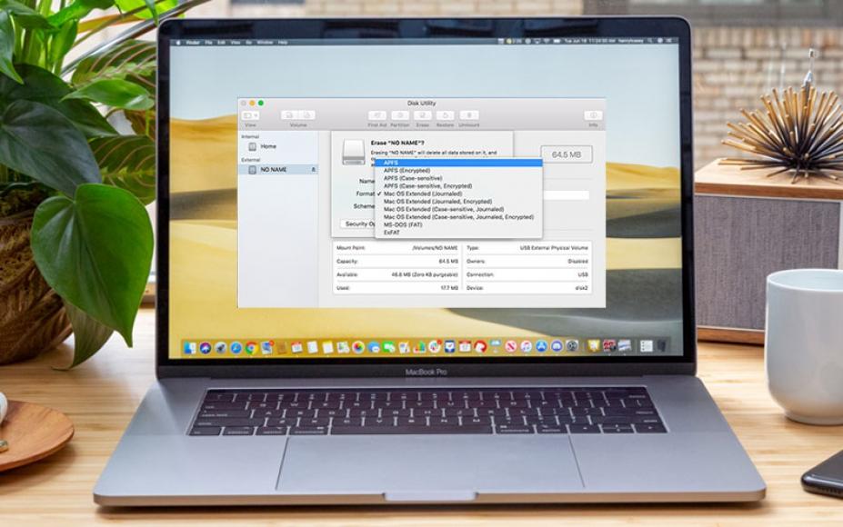 Hướng dẫn chi tiết cách định dạng ổ cứng cho Macbook