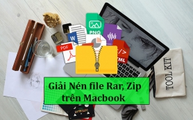 Tổng Hợp cách nén và giải nén file RAR, ZiP trên Macbook