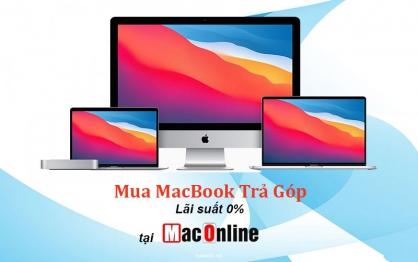Các thông tin về mua Macbook trả góp tại MacOnline