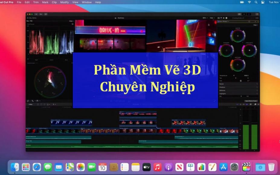 Top 5 phần mềm vẽ 3D trên Macbook tốt nhất năm 2021