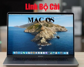 Link tổng hợp các bộ cài Mac OS thông dụng