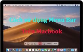 cách sử dụng Menu Bar trên Macbook